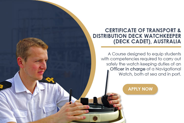 Certificate of Transport & Distribution Deck Watchkeeper